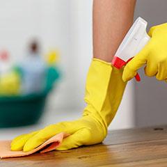 Почистване при нанасяне или изнасяне